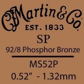 Martin Studio Performance .052 Phosphor Bronze Single String