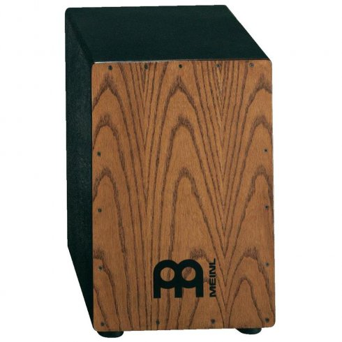 """Meinl Headliner Series Cajon 11 3/4"""" x 18"""" Stained American White Ash Frontplate"""