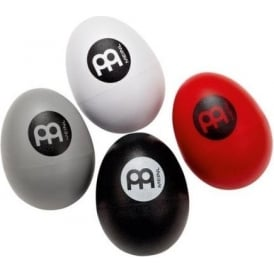 Meinl Plastic Egg Shaker Set of 4 in Variety of Colours