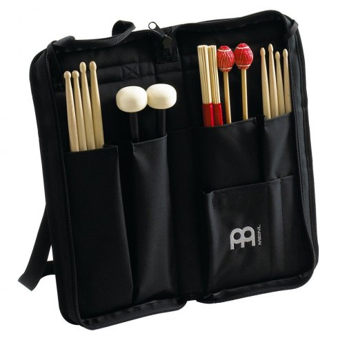 Meinl Professional Heavy Duty Black Nylon Drum Stick Bag MSB-1