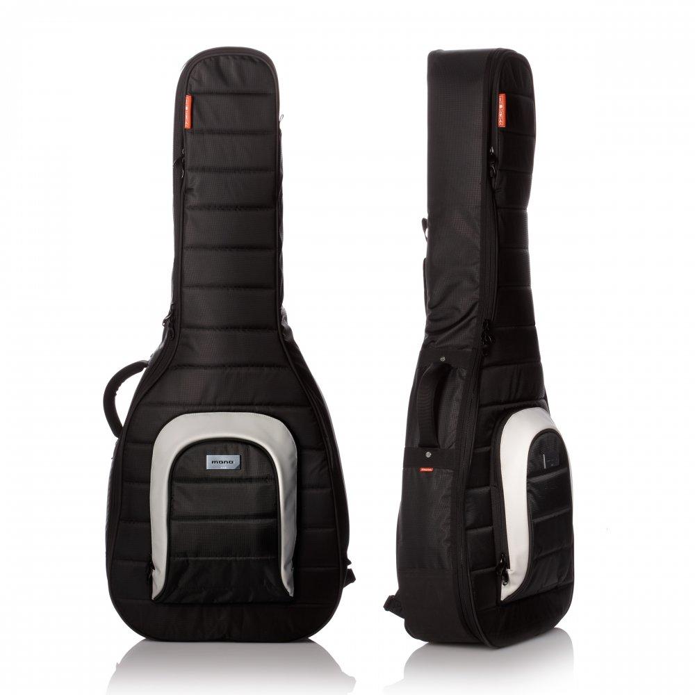 mono m80 ac blk classical om acoustic guitar case black gig bag. Black Bedroom Furniture Sets. Home Design Ideas