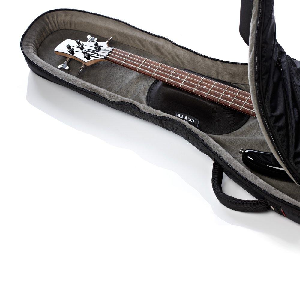 mono m80 veb gry vertigo bass guitar case grey orange gig bag. Black Bedroom Furniture Sets. Home Design Ideas