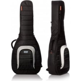 MONO M80-AC-BLK Classical & OM Acoustic Guitar Case Black Gig Bag