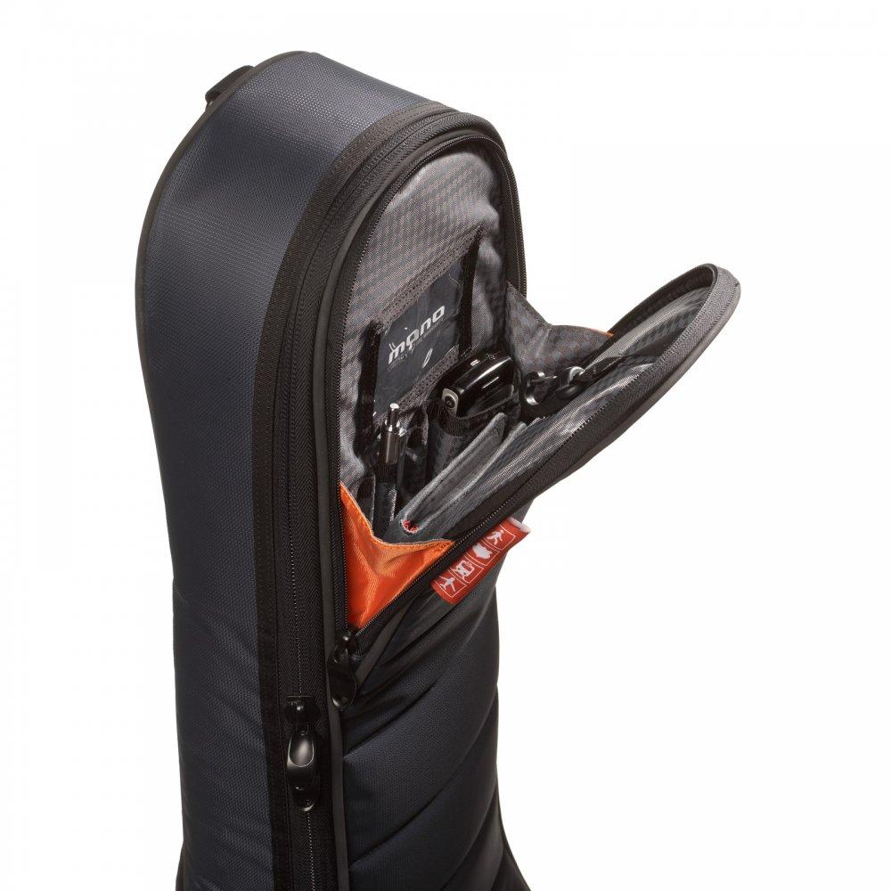 mono m80 ad blk dreadnought acoustic guitar case gig bag black. Black Bedroom Furniture Sets. Home Design Ideas