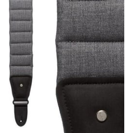 "MONO M80 The Betty Duraweave Guitar Strap, Ash Grey, Short 40""-46"""