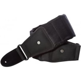 "MONO M80 The Betty Sharkskin Guitar Strap, Black, Long 47""-56"""