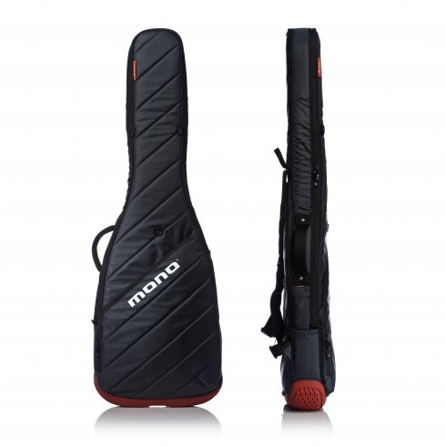 mono m80 veb gry vertigo electric bass guitar gig bag grey orange. Black Bedroom Furniture Sets. Home Design Ideas