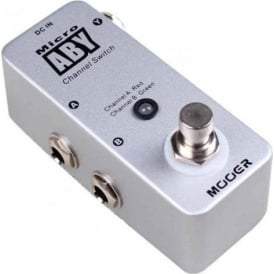 MOOER ABY Micro ABY Channel Switch Guitar Pedal