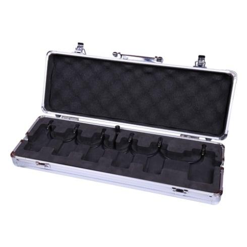 MOOER M6 Firefly Guitar Effects Mini Pedal Board & Flight Case