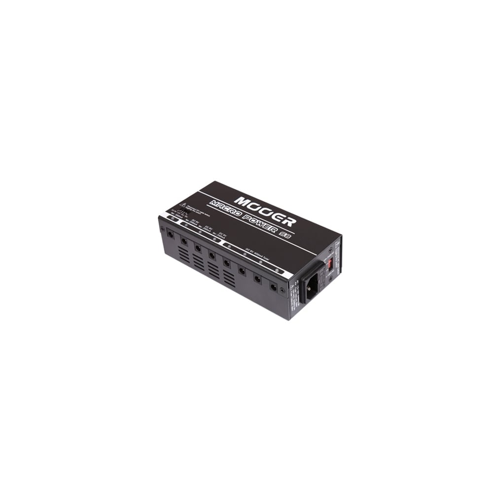 mooer macro s8 8 x ports isolated power supply for effects pedals. Black Bedroom Furniture Sets. Home Design Ideas