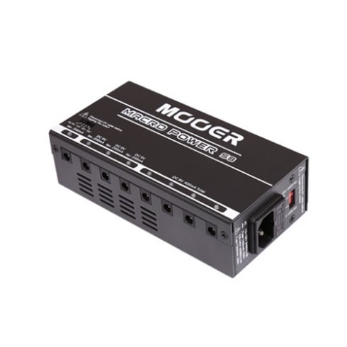 MOOER Macro S8 Isolated Effects Pedal Power Supply