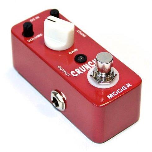MOOER MDS3 Cruncher Distortion Guitar Effects Pedal