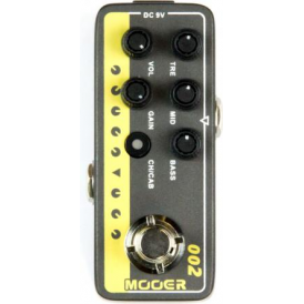 MOOER Micro Preamp 002, UK Gold 900
