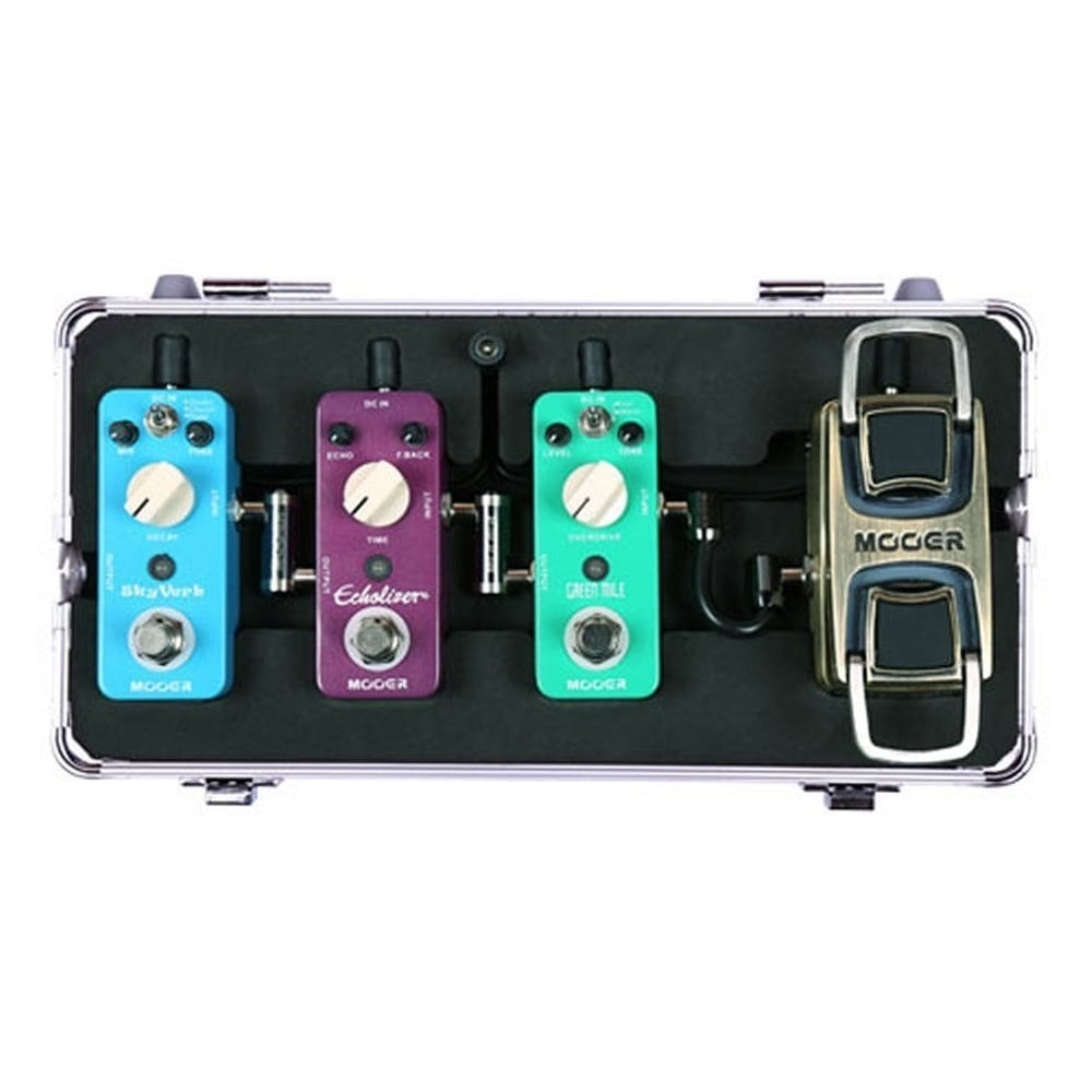Mooer M4 Firefly Mini Pedal Board Flight Case For Micro