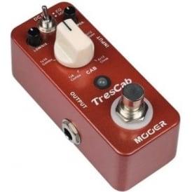 MOOER MTS1 TresCab Speaker Cab Simulator Guitar Effects Pedal