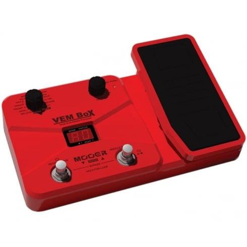 mooer vem box vocal multi effects unit w expression pedal. Black Bedroom Furniture Sets. Home Design Ideas