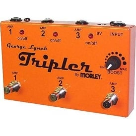 Morley TRIPLER George Lynch Signature Triple Guitar Amp Switcher