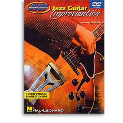 Music Institute Jazz Guitar Improvisation DVD