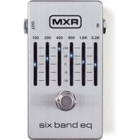 MXR 6-Band EQ Silver Guitars Effects Pedal M109S