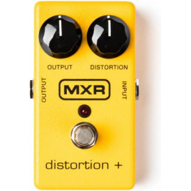 MXR M104 Distortion+ Electric Guitar Effects Pedal