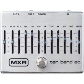 MXR M108S 10-Band EQ, Silver
