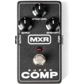 MXR M132 Super Comp Electric Guitar Compressor Pedal by Dunlop USA Made