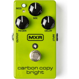 MXR M269SE Carbon Copy Bright - All Analogue Delay Guitar Effects Pedal