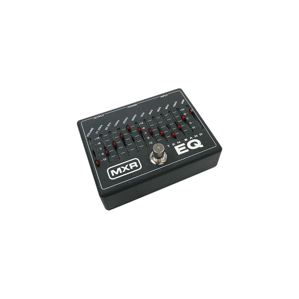 mxr m108 10 band graphic equalizer eq pedal. Black Bedroom Furniture Sets. Home Design Ideas