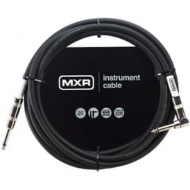 MXR Standard Instrument Cable, 20ft, Angled Jack