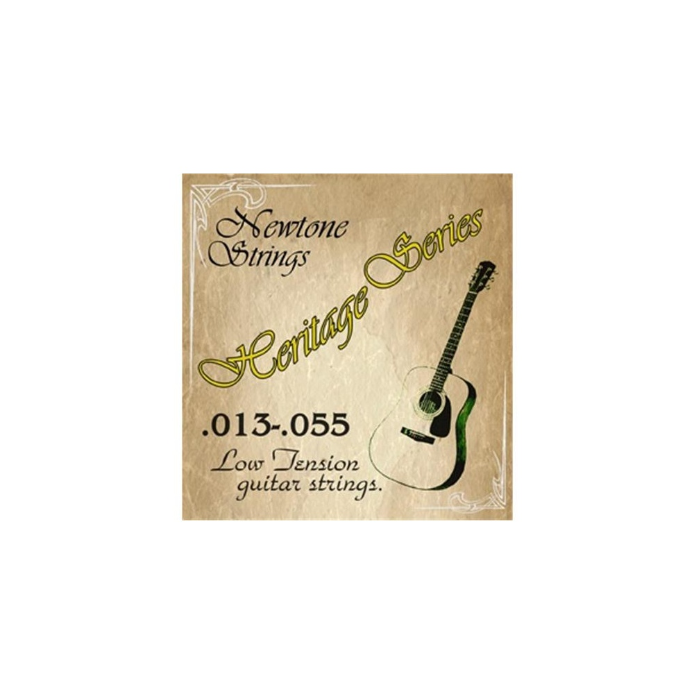 newtone heritage phosphor bronze low tension acoustic guitar strings 13 55 strings from. Black Bedroom Furniture Sets. Home Design Ideas