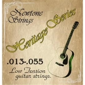 Newtone Heritage Phosphor Bronze Low Tension Acoustic Guitar Strings 13-55