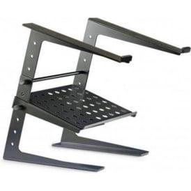 Stagg DJS-LT20 Professional Laptop Stand Black DJ Disco inc Lower Shelf