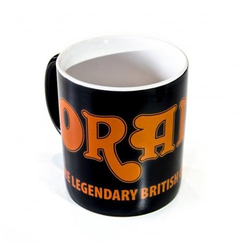 Orange Amplification Coffee Mug, Black
