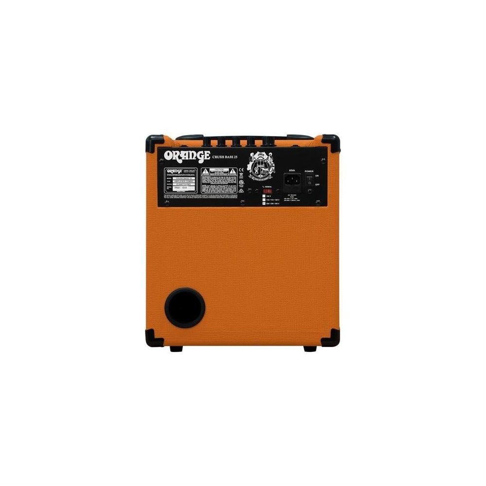 orange amplifiers crush cr25 25w bass guitar combo amp. Black Bedroom Furniture Sets. Home Design Ideas