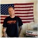 Orange Amplifiers Men's Logo T-Shirt, Black