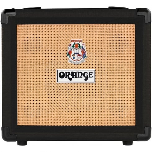 Orange Black Crush 20, 20W Guitar Amp 2-Channel Combo