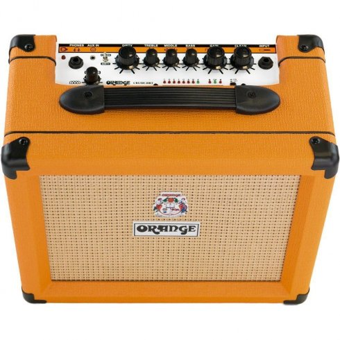 Orange Crush 20, 20W Guitar Amp, 2-Channel Combo with Reverb and Tuner