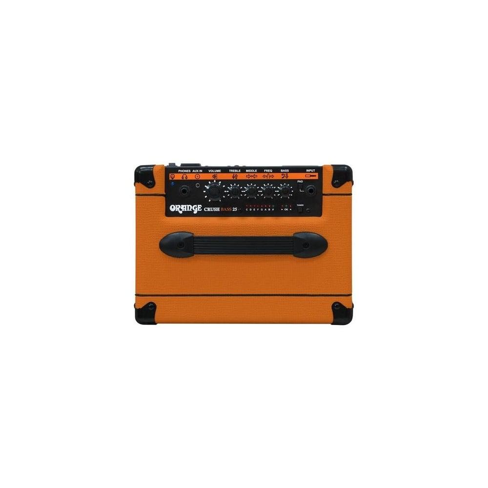 orange crush cr25 25w bass guitar combo amp. Black Bedroom Furniture Sets. Home Design Ideas