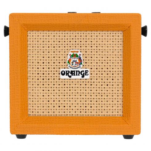 Orange Micro Crush 3 Watt Amplifier Combo, Battery Powered