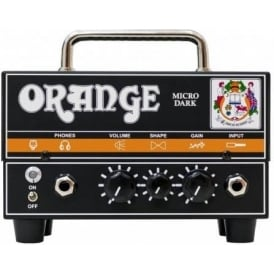 Orange Micro Dark Terror 20W Hybrid Guitar Amp Head
