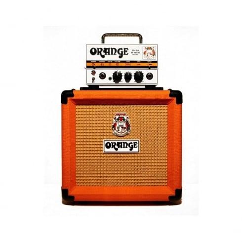 Orange Micro Terror Head + PPC108 Cab Mini Stack for Electric Guitar