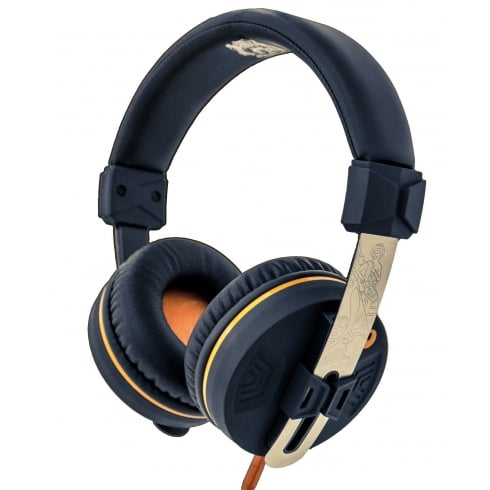 Orange O Edition Headphones, On-Ear, Closed Back