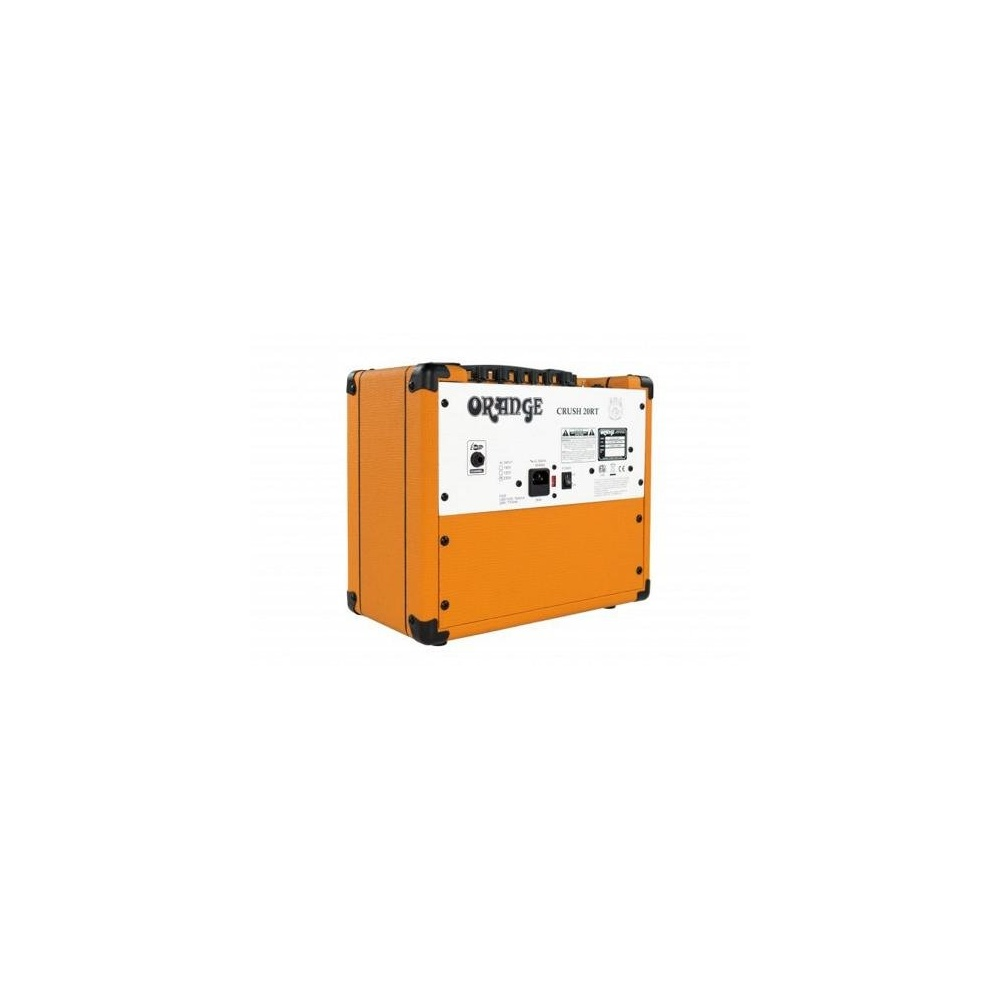 orange amplifiers crush 20 20w guitar amp combo with reverb tuner. Black Bedroom Furniture Sets. Home Design Ideas