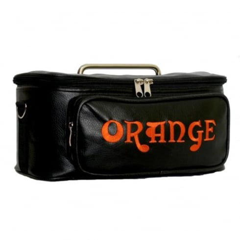 Orange Tiny Terror Head Padded Leather Gig Bag