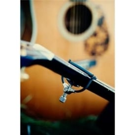 "The Paige Clik 6-String 2-1/4"" Radius Guitar Capo"