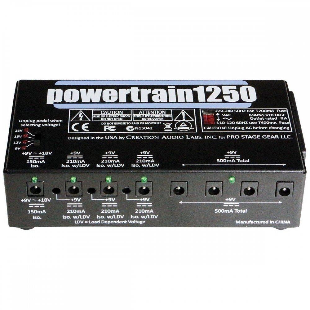 pedaltrain power train guitar pedalboard effects multi power supply. Black Bedroom Furniture Sets. Home Design Ideas