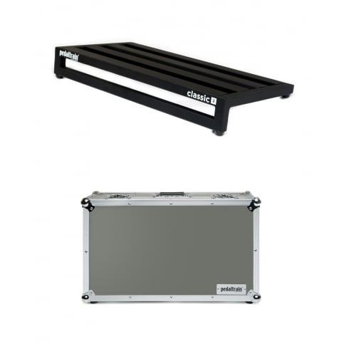Pedaltrain CLASSIC 2 Pedal Board with Tour Case