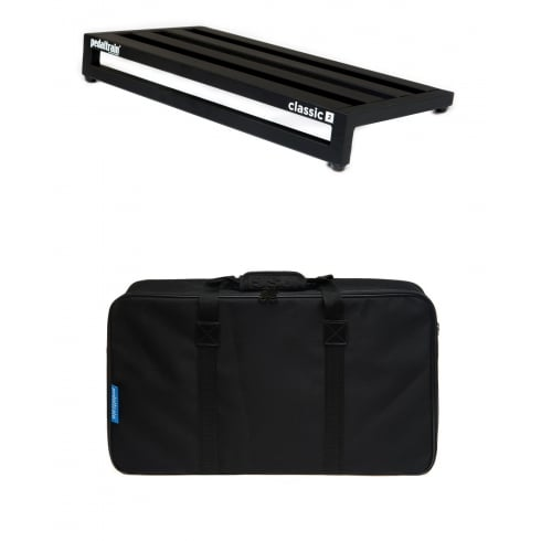 Pedaltrain Classic 2 Pedalboard with Fitted Black Softcase