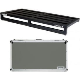 Pedaltrain Classic Pro Pedalboard with Fitted Tour Hard Case