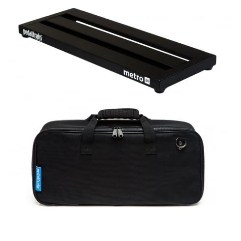 Pedaltrain METRO 20 Pedal Board with Fitted Soft Case